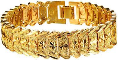 El enchapado en oro y las joyas de Gold Filled