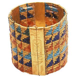 Pulsera de perlas de la Reina Ahhotep