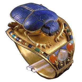 Pulsera de Tutankamón unida por una bisagra
