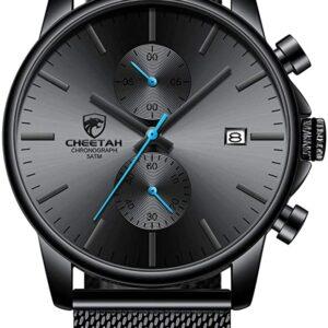 Golden Hour Reloj para hombre de moda elegante minimalista